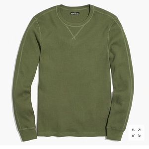 Like new large Olive long sleeve waffle tee